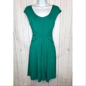 Max Studio Size Medium Green Dress